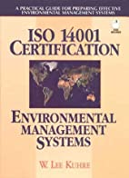 ISO 14001 certification : environmental…