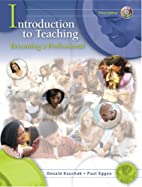 Introduction to Teaching: Becoming a…