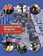 Automotive Service Management Principles…