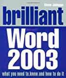 Johnson, Steve: Brilliant Word 2003