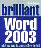Johnson, Steve: Brilliant Word 2003