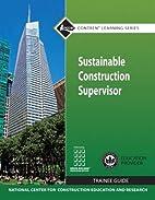 Sustainable Construction Supervisor TG…