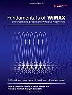Fundamentals of WiMAX: Understanding…