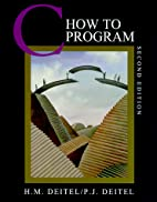 C How to Program, 2nd Edition by Harvey M.…