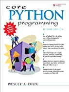 Core Python Programming (2nd Edition) by…