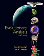 Evolutionary Analysis by Scott Freeman