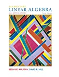 Kolman, Bernard: Elementary Linear Algebra with Applications (9th Edition)