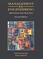 Management in Engineering: Principles and…