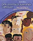 Developmentally Appropriate Curriculum: Best…