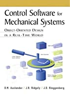 Control Software for Mechanical Systems:…