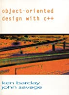 Object Oriented Design With C by Ken Barclay
