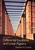 Goode, Stephen W.: Differential Equations and Linear Algebra