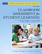 Classroom Assessment for Student Learning:…