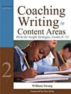 Coaching Writing in Content Areas:…