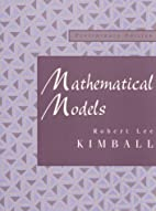 Mathematical Models: Preliminary Edition by…