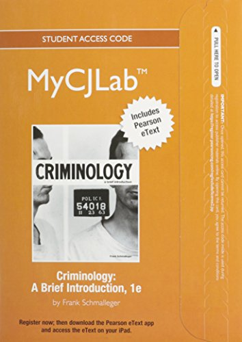 new-mycjlab-with-pearson-etext-access-card-for-criminology-a-brief-introduction-mycjlab-access-codes