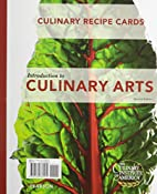 Recipe Cards for Introduction to Culinary…