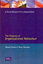Essence of Organizational Behaviour, The by…