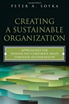 Creating a Sustainable Organization:…