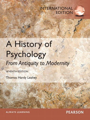 a-history-of-psychology-from-antiquity-to-modernity-international-edition