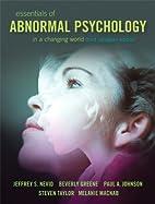 Essentials of Abnormal Psychology, Third…