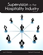 Supervision in the Hospitality Industry with…