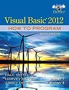 Visual Basic 2012 How to Program (6th…