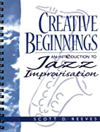 Creative Beginnings: An Introduction to Jazz…