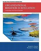 Organizational Behavior in Education:…