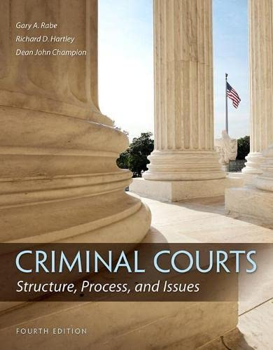 criminal-courts-structure-process-and-issues-4th-edition
