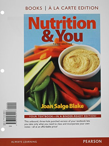 nutrition-you-books-a-la-carte-edition-modified-masteringnutrition-with-mydietanalysis-with-pearson-etext-valuepack-access-card-for-nutrition-you-package
