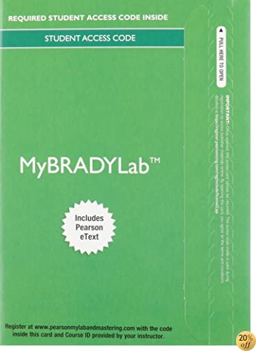 MyBradylab with Pearson eText - Access Card - for Emergency Care (Limmer)