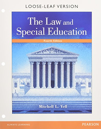 law-and-special-education-the-enhanced-pearson-etext-with-loose-leaf-version-access-card-package-4th-edition