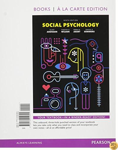 Social Psychology, Books a la Carte Plus NEW MyLab Psychology  -- Access Card Package (9th Edition)