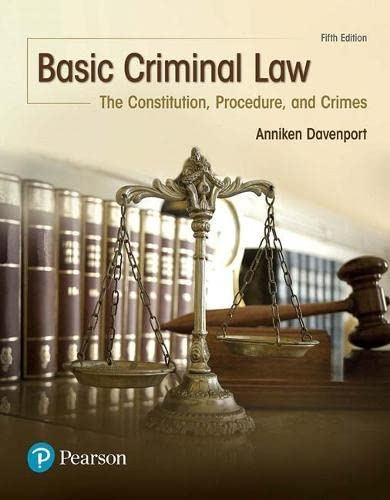 basic-criminal-law-the-constitution-procedure-and-crimes-5th-edition