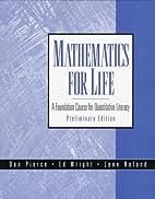 Mathematics for Life: A Foundation Course…