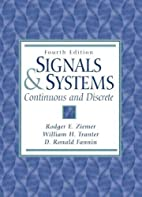 Signals and Systems: Continuous and Discrete…