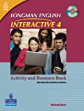 Michael Rost: Longman English Interactive Level 4 Activity and Resource Book: With Audio CD and Written Activities