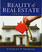 Reality of Real Estate (3rd Edition) by…