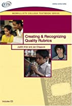 Creating and Recognizing Quality Rubrics…