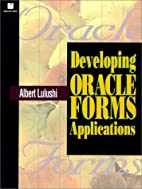 Developing Oracle Forms Applications by…