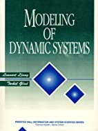 Modeling of Dynamic Systems by Lennart Ljung