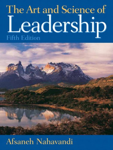 art-and-science-of-leadership-5th-edition