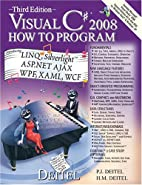 Visual C# 2008 How to Program (3rd Edition)…