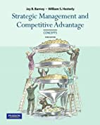 Concepts, Strategic Management and…