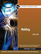 Welding Level 1 Trainee Guide, Hardcover…