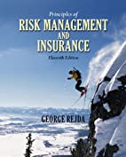 Principles of Risk Management and Insurance…