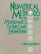 Numerical methods for mathematics, science,…