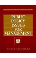 Public Policy Issues For Management (2nd…