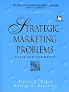 Strategic Marketing Problems: Cases and…